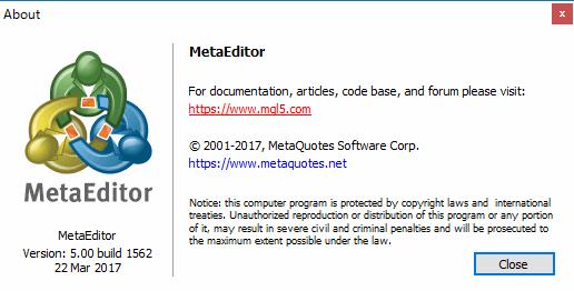 MetaEditor(メタエディター)の使い方